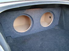 "2008+ Dodge CHALLENGER SUB BOX Subwoofer Speaker Enclosure 2-12"" (ver 2)"