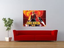 DUKE NUKEM 3D VIDEO COMPUTER GAME GIANT ART PRINT PANEL POSTER NOR0040
