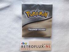 Pokemon Trainer's Guide - Manual NHAU- Gameboy Color