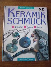 Keramikschmuck - Krumbach - Augustus Verlag 1997