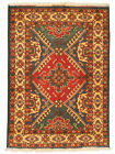 """Vintage Hand-Knotted Carpet 3'4"""" x 4'8"""" Traditional Oriental Wool Area Rug"""