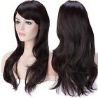 Long Light Blonde Curly Heat Resistant Wavy Cosplay Women Hair Full Wig Wigs D22