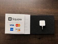 New listing Square A-Pkg-0206-01 Credit Debit Card Reader aux version new condition