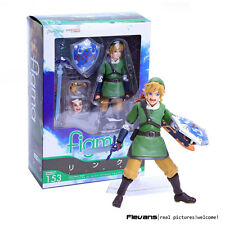 THE LEGEND OF ZELDA / SKYWARD SWORD - LINK FIGURE 14cm (FIGMA #153 REPLICA)