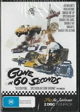 GONE IN 60 SECONDS & THE JUNKMAN - 2 DISC SET -  NEW R4 DVDS FREE LOCAL POST