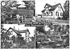 AK, Bad Bergzabern, Pension am Schloß, vier Abb., 1979