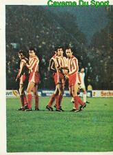 225 MONCHENGLADBACH Vs CRVENA ZVEZDA UEFA CUP STICKER FOOTBALL 1980 BENJAMIN NEW