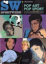 Sport Week 2017 7.Andy Warhol,Andrea Petagna,Roberto Baggio,Marco Melandri,jjj
