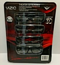 Vizio Theater 3D Passive 3D Glasses Pack of 4