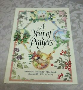 A Year of Prayers Book by Mike Brooks 1992