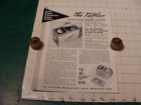 original Vintage 1955 Geiger Counter ad sheet: THE TATTLER