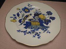 """Spode Blue Bird Plate Dinner 10 5/8"""" 1958-90"""