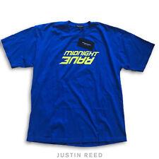 "Midnight Studios x AWGE ""Midnight Rave"" Blue/Yellow T-Shirt Sz 1"