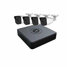 Hiwatch 4CH Turbo DVR 4 telecamere 2MP HD-TVI completa sicurezza CCTV KIT SISTEMA