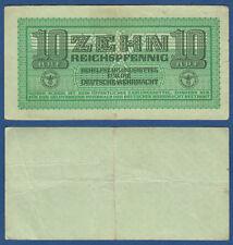WEHRMACHT 10 Reichspfennig (1942)  Erh. III / VF  Ro.503 / P.M34