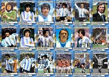Argentina 1978 World Cup winners football trading cards