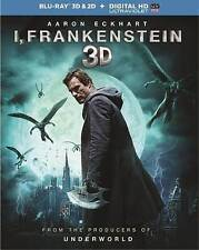 I, Frankenstein (Blu-ray Disc, 2014, 2-Disc Set) - No Inserts - Free Shipping