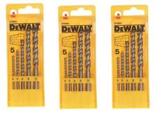 DEWALT DT6952 MASONARY DRILL BIT SET 4-10MM IN CASE **PACK OF 3**