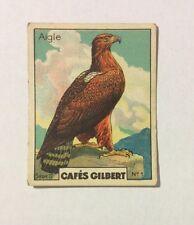 CHROMO Image CAFES GILBERT années 30 Série 2 n° 1 AIGLE