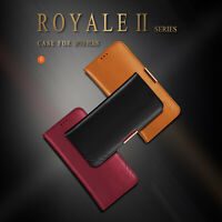Cow Genuine Leather Case Wallet Flip Cover For iPhone 7 8 Plus iPhone7 iPhone8
