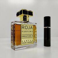 ROJA - Creation E  (Enigma) - 5ml SAMPLE Decant Glass Atomizer