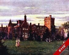 GIRTON COLLEGE CAMBRIDGE ENGLAND ENGLISH LANDSCAPE ART PAINTING CANVAS PRINT