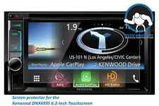 Tuff Protect Clear Screen Protectors for Kenwood eXcelon DNX693S (2pcs)