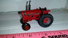 1/64 ERTL custom ih international open station 766 black stripe tractor farm toy