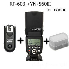 Yongnuo YN-560 III Bundle Flash light With RF-603 II Single Transceiver (Canon)