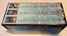 The Wonders of God's Creation - Three Volume Set (VHS 3-Tape Set) **Brand New**