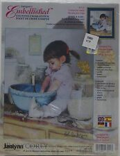 Janlynn Embellished Cookie for Daddy Counted Cross Stitch Kit 17-21 NIP
