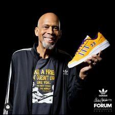 Kareem Abdul Jabbar Adidas Forum 84 Low Signed Auto 1 of 33 Certified Size 12