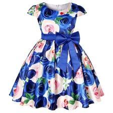 Tutú De Fiesta Formal Boda Vestidos De Dama De Honor De Flores Niña Bebé Niño Princesa Vestido