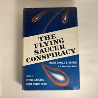 The Flying Saucer Conspiracy Book Major Donald E. Keyhoe 1955 First Edition HC