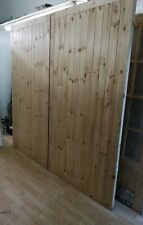 Wooden Garage Double Doors