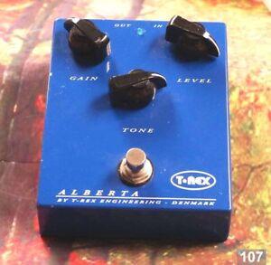 107 T-Rex Alberta Classic Overdrive Guitar Effects Pedal