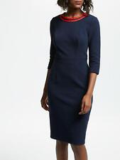BODEN dress size 12 petite POLPERRO OTTOMAN DRESS BNWOT  J0278