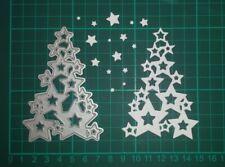 Stanzschablone Weihnachten - Stern Tannenbaum -