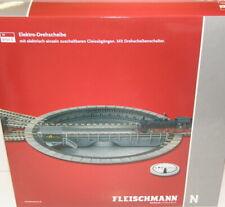 Fleischmann N 9152 C Drehscheibe elektrisch für Profi-Gleis - NEU + OVP