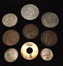 Vintage Magic Coins/Shells - 9 Shells Used To Perform Tricks