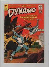 Dynamo #1 - Jet Fighter Cover - 1966 (Grade 6.5) WH