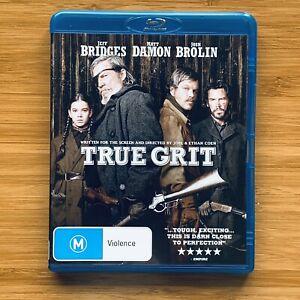 True Grit (Blu-ray DVD, 2010) Jeff Bridges Matt Damon Josh Brolin