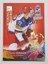 2017 BY cards IIHF WC Scoring Leaders #01 Artemi Panarin #/20