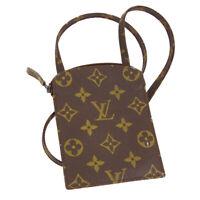 LOUIS VUITTON POCHETTE SECRET SHOULDER BAG POUCH 831 MONOGRAM M45484 02084