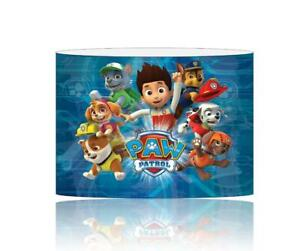 (045)  PAW PATROL LIGHTSHADE / CEILING LIGHT SHADE KIDS FREE P+P