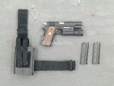 1/6 scale toy Speed - LAPD SWAT - 1911 Pistol w/Drop Leg Holster
