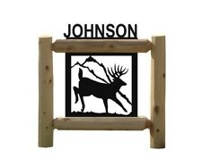 Whitetail Deer Hunting - Personalized Signs (303)