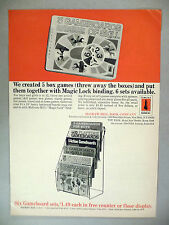 Gameboards of Skill Sets PRINT AD - 1965 ~~ McGraw-Hill