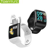 Torntisc 2020 Sport Smart Watch with TWS Bluetooth Earphones Heart Rate Monitor