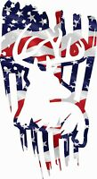 FLAG USA DXF-CDR of PLASMA LASER AND ROUTER Cut -CNC DEER
